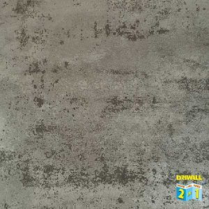 Metallic Silver Matt 600mm PVC Wall Panel