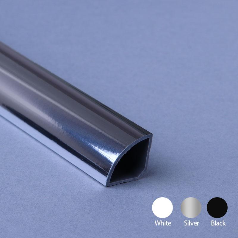 Quarter Round Silver Extrusion