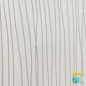 White Ripple Gloss 600mm PVC Wall Panel