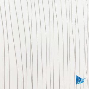 White Ripple Gloss Shower Panel