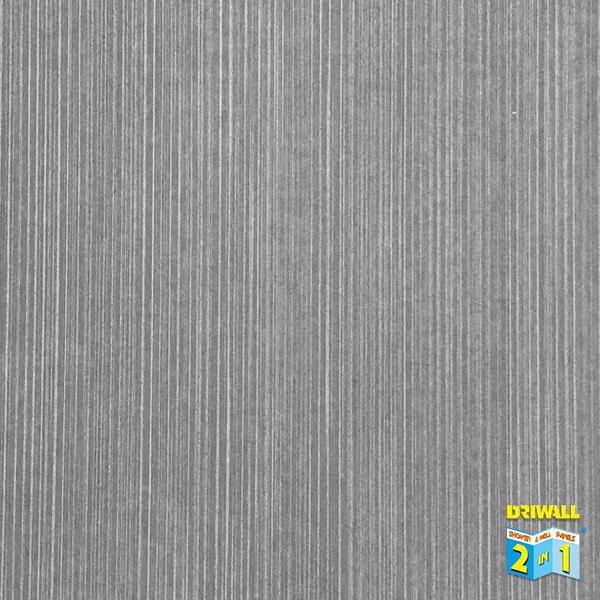 Grey Linen Gloss 600mm PVC Wall Panel