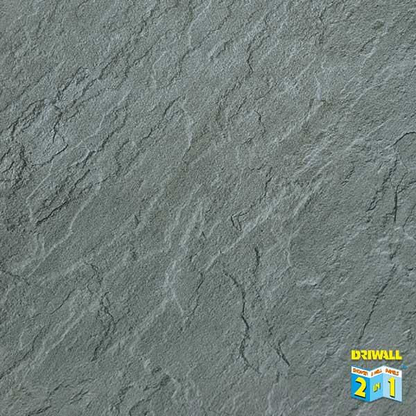 Slate Light Grey 600mm PVC Wall Panel