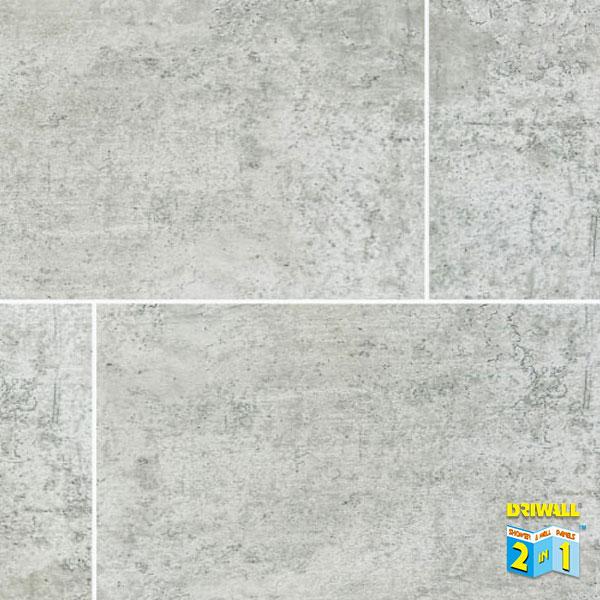 7mm Light Grey Stone Tile Matt