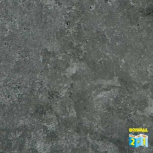 Heavy Embossed Concrete Dark Grey Matt 7mm PVC Wall Panel
