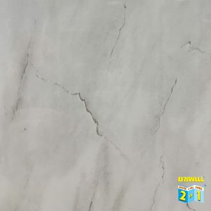 Heavy Embossed Light Grey Marble Matt 7mm PVC Wall Panel