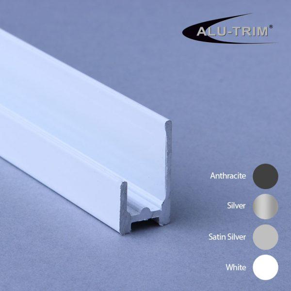 10mm Base Seal Aluminium Trim