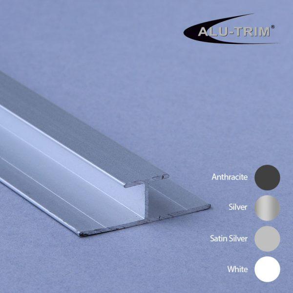 Aluminium H Trim 7mm