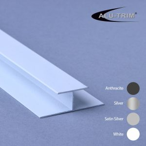 Aluminium H Trim 10mm