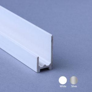 10mm Base Seal Trim PVC